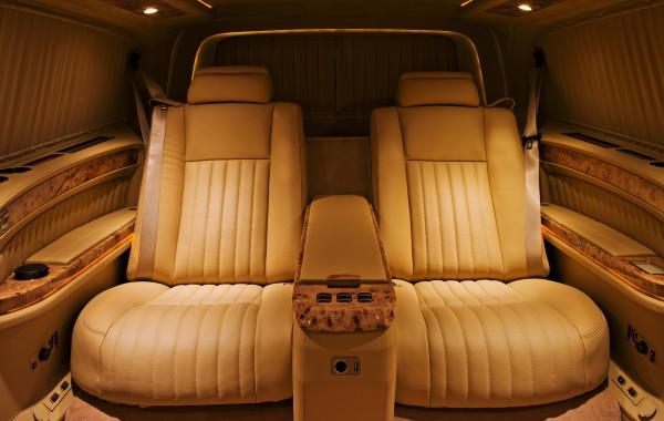 Mercedes Benz Viano Сonsole