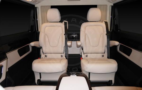 Mercedes Benz V-class Just Black & White