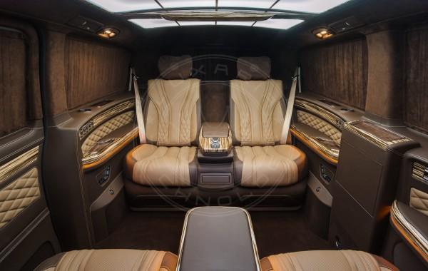 Mercedes Benz V-class Mont Blanc 35