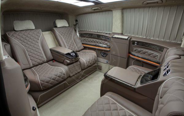 Mercedes Benz V class Mont Blanc 55