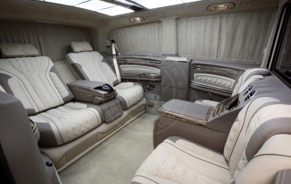 Mercedes Benz V class Mont Blanc 57