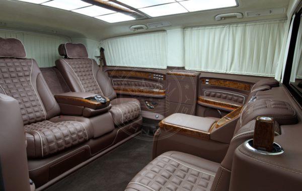 Mercedes Benz V class Mont Blanc 61