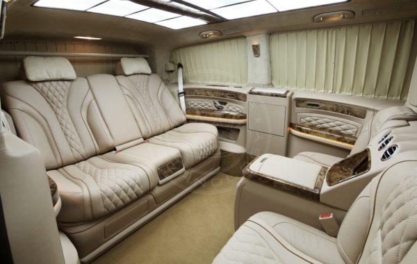 Mercedes Benz V class Mont Blanc 67