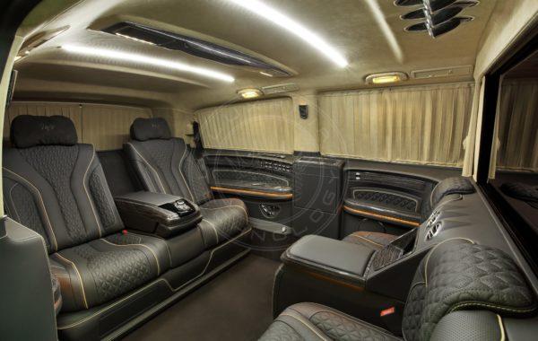 Mercedes Benz V class Mont Blanc 69