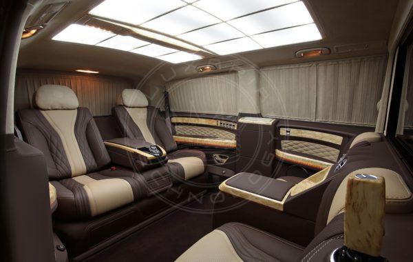 Mercedes Benz V class Mont Blanc 73