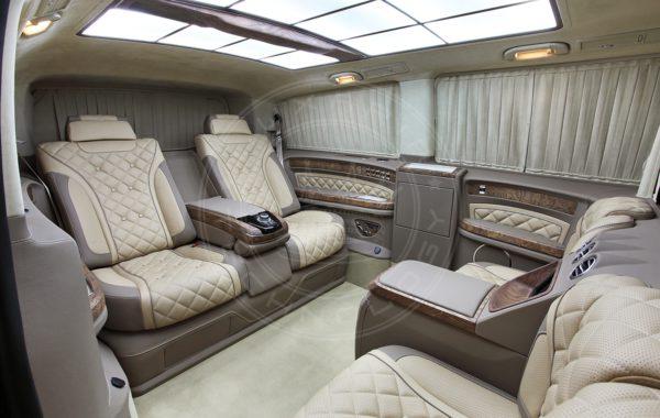 Mercedes Benz V class Mont Blanc 81