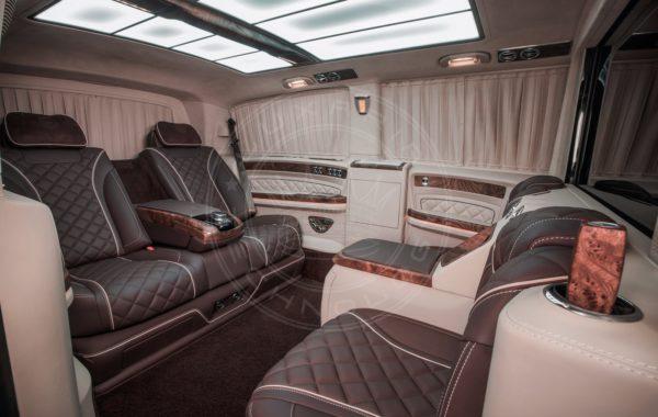 Mercedes Benz V class Mont Blanc 87