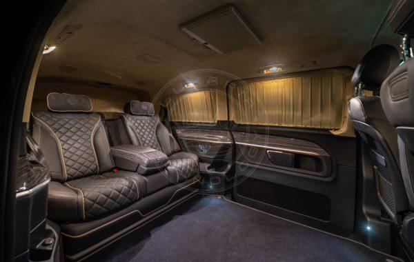 Mercedes Benz V class Mont Rose 116